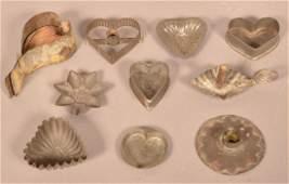 Ten Pieces of Antique Utilitarian Wares
