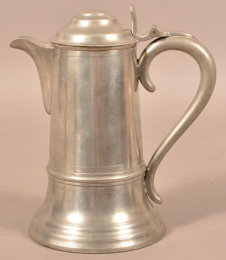 Lenard Reed & Barton Pewter Flagon. - 2
