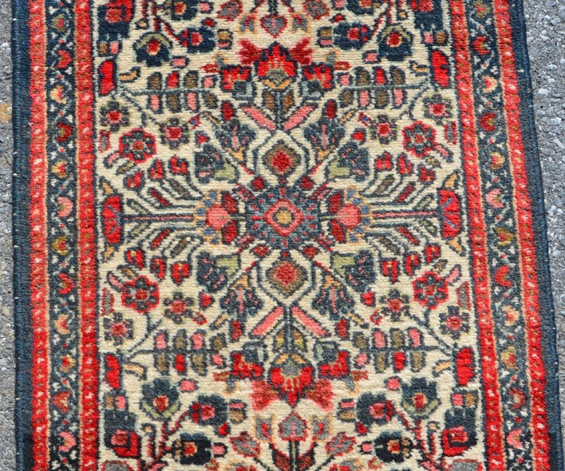 Antique/Vintage Floral Pattern Oriental Area Rug. - 2