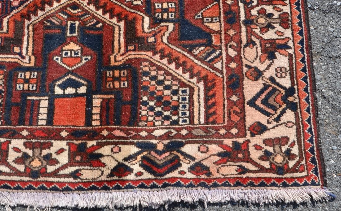 Antique/Vintage Sarouk Pattern Room Size Oriental Rug. - 2