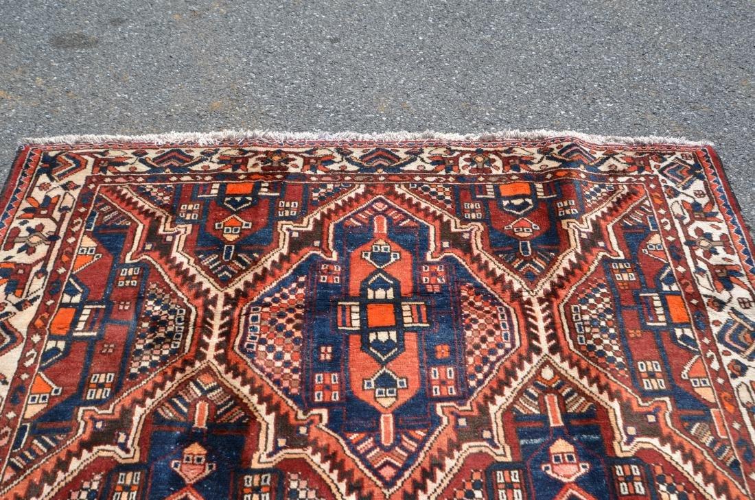 Antique/Vintage Sarouk Pattern Room Size Oriental Rug. - 5