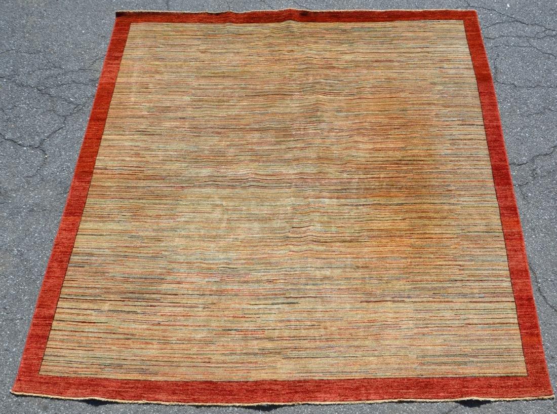 Antique/Vintage Striped Pattern Area Rug.