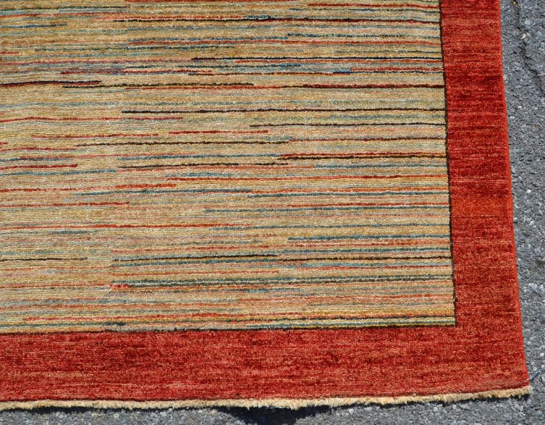 Antique/Vintage Striped Pattern Area Rug. - 2