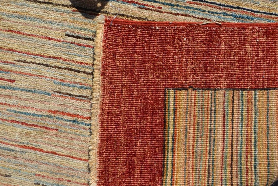 Antique/Vintage Striped Pattern Area Rug. - 3