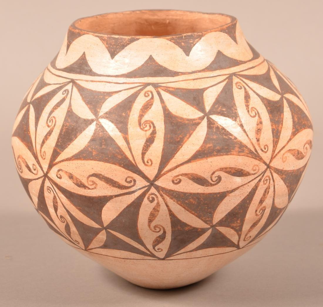 """Vintage Acoma Indian Jar 7 1/2"""" x 6"""" - 2"""