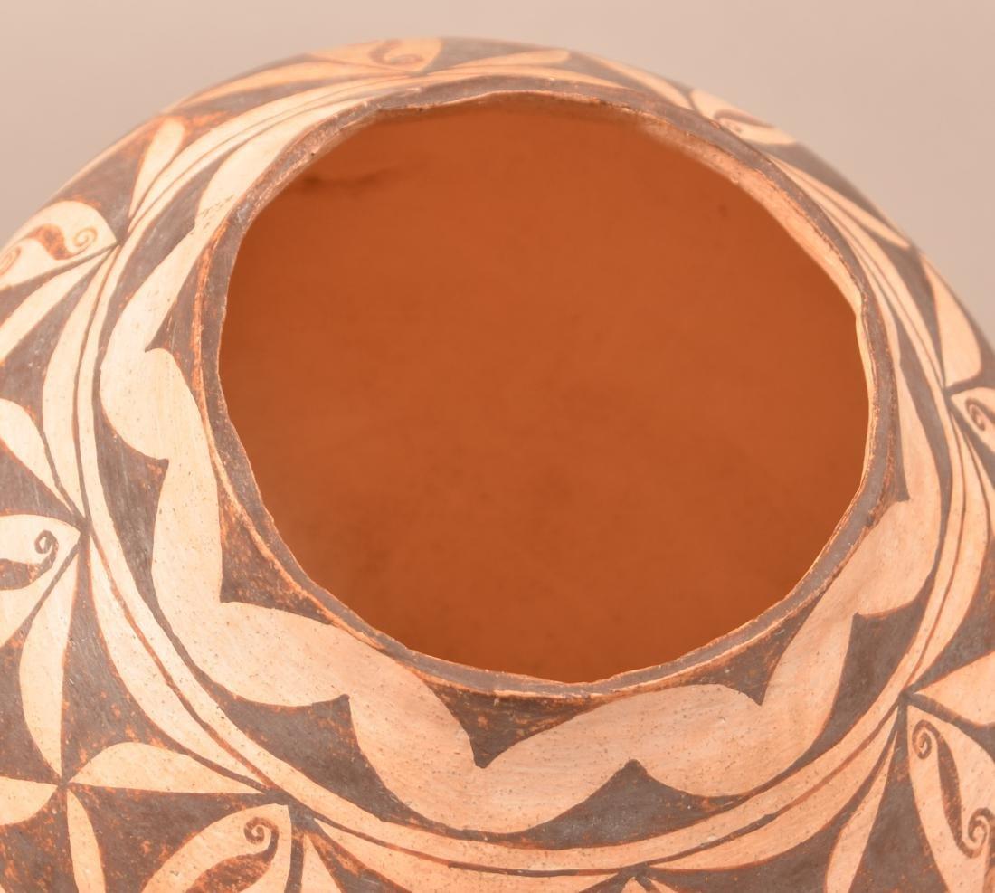 """Vintage Acoma Indian Jar 7 1/2"""" x 6"""" - 3"""