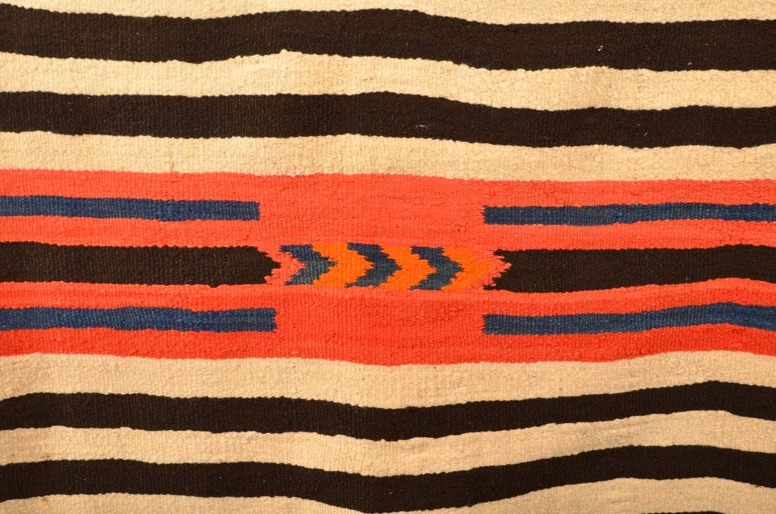 """Antique Navajo Indian Textile 58"""" x 44"""" """"2nd Phase"""" - 2"""