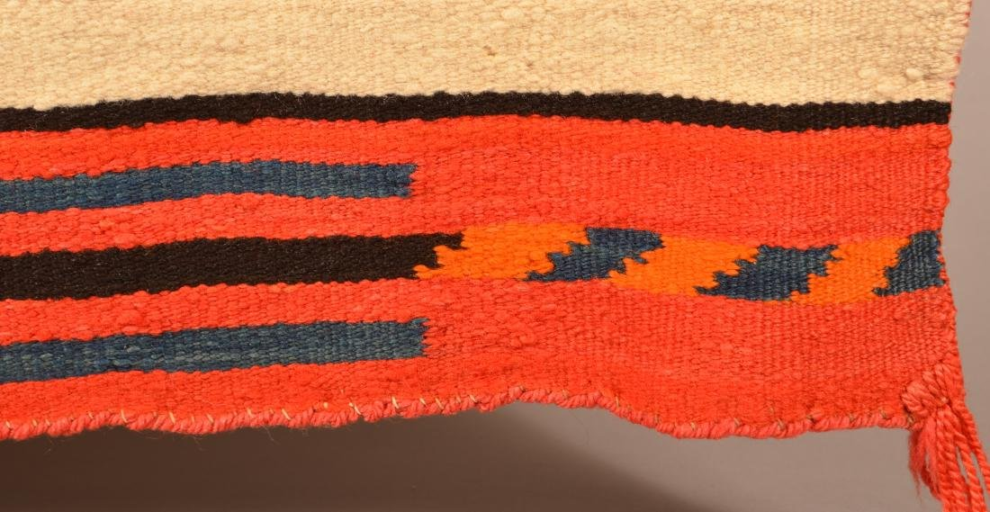 """Antique Navajo Indian Textile 58"""" x 44"""" """"2nd Phase"""" - 4"""