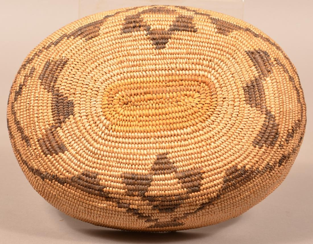 Antique Oval Shaped Basket, California Mission Type 10 - 2