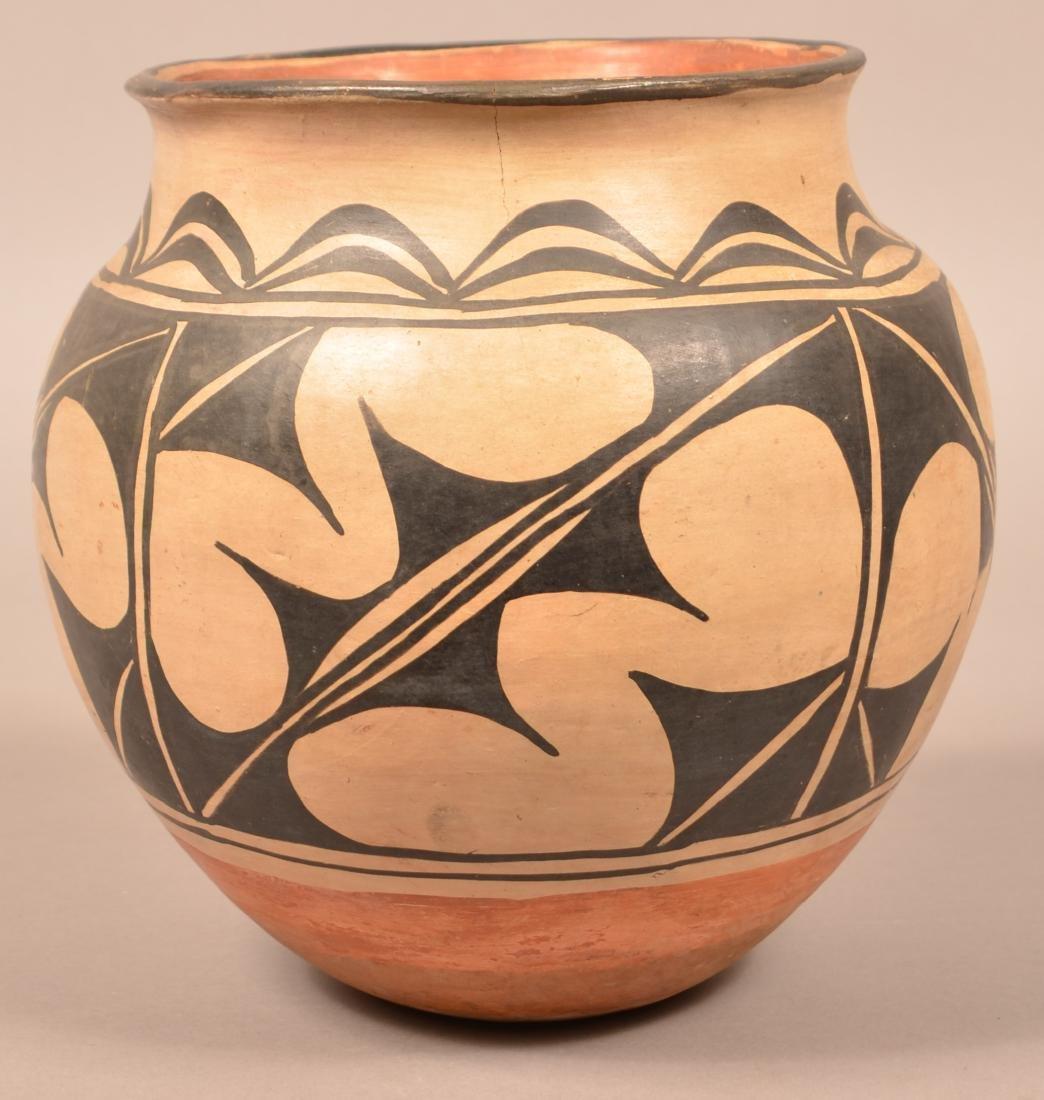 """Antique Pueblo """"Olla"""" Form Pottery Jar, A Cochiti Type"""