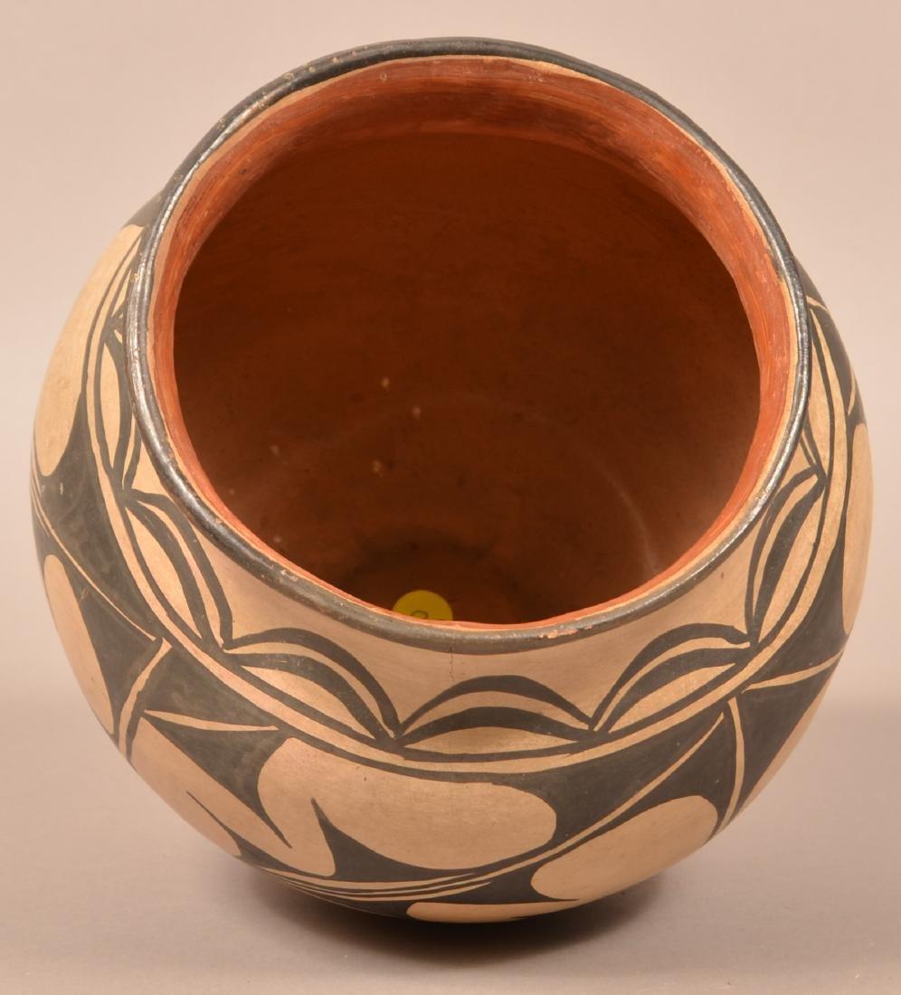 """Antique Pueblo """"Olla"""" Form Pottery Jar, A Cochiti Type - 3"""