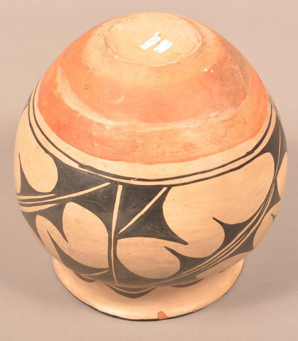 """Antique Pueblo """"Olla"""" Form Pottery Jar, A Cochiti Type - 4"""