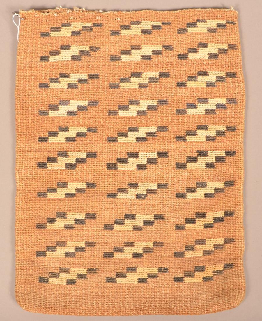 Antique Nez Perce Twined Cornhusk Flat Bag