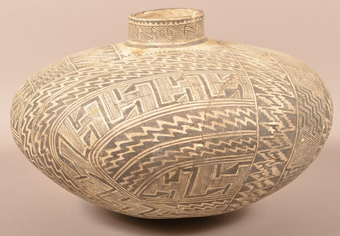 Large Highly Decorated Tullarosa Style Pottery Vessel,