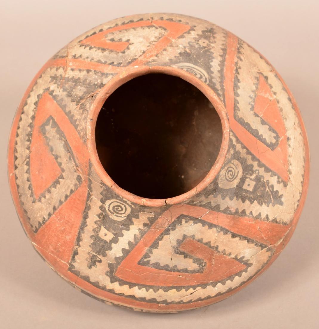 "Large Prehistoric Pottery Jar ""Four Mile Polychrome"" - 3"