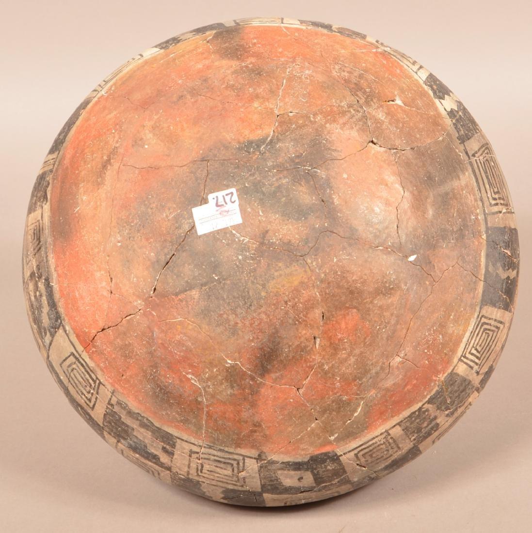 "Large Prehistoric Pottery Jar ""Four Mile Polychrome"" - 4"