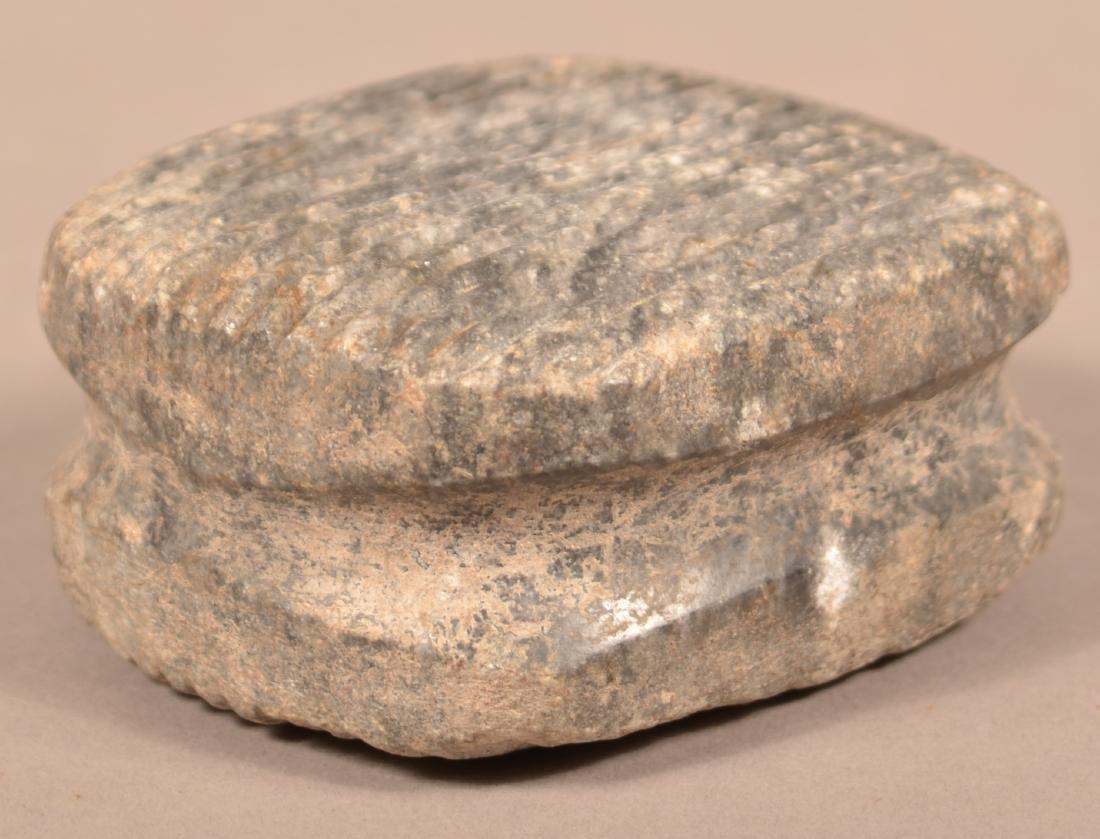 "2 Precolumbian Meso American Artifacts - A Fine 7"" Celt - 2"
