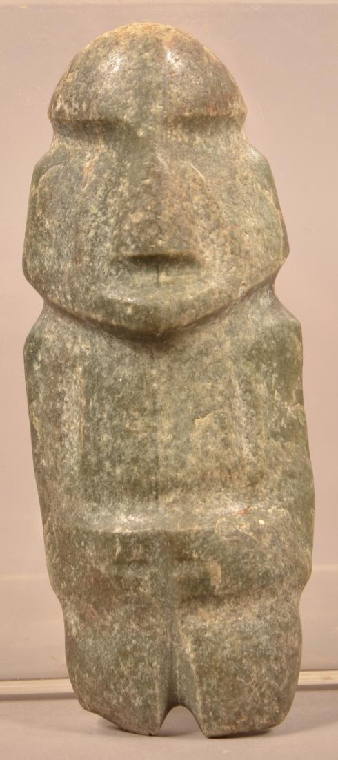 """Mezcala """"String Cut"""" Figurine 7"""" Tall w/ Polished"""