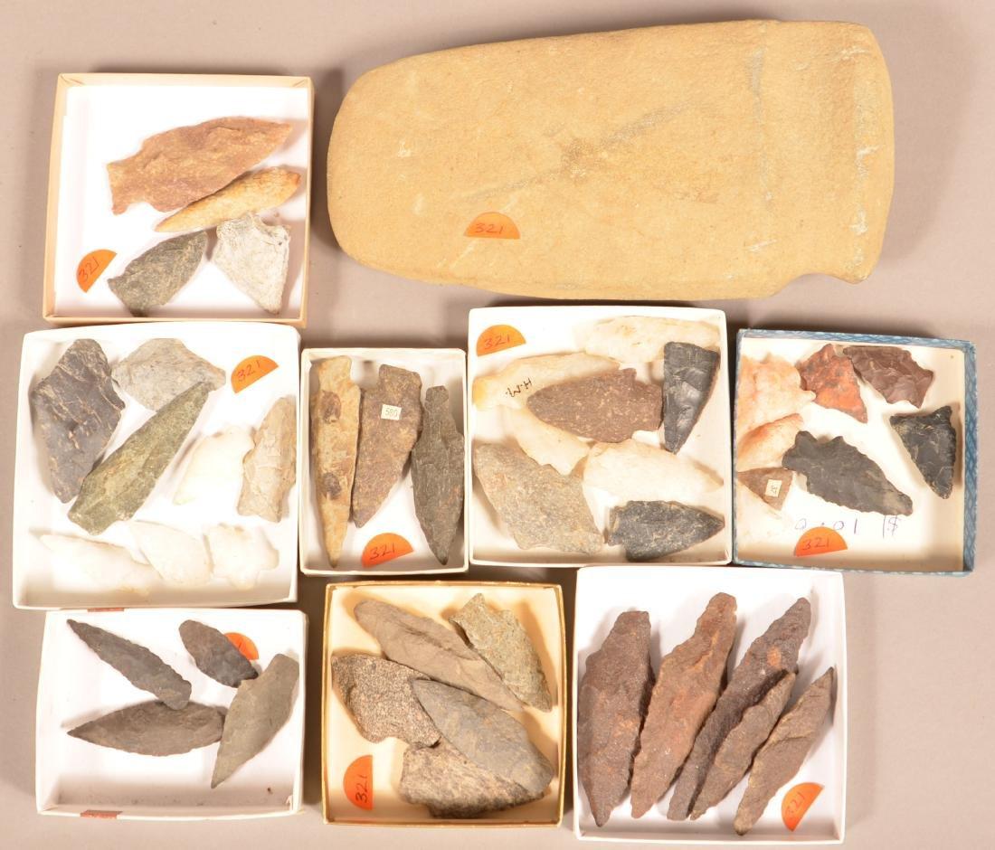 45 S.E Pennsylvania Prehistoric Artifacts 3/4 Groove