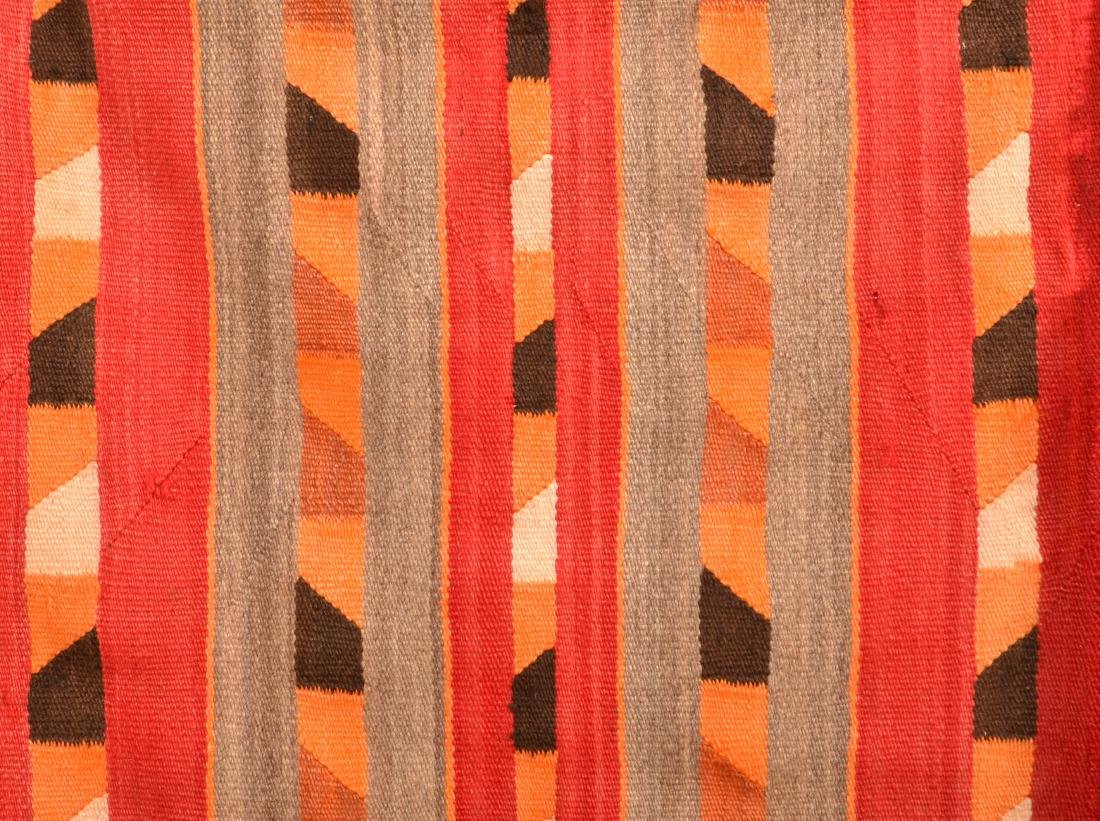 "2 Old Navaho Textiles - 30"" x 26"", 35"" x 28"" These - 2"