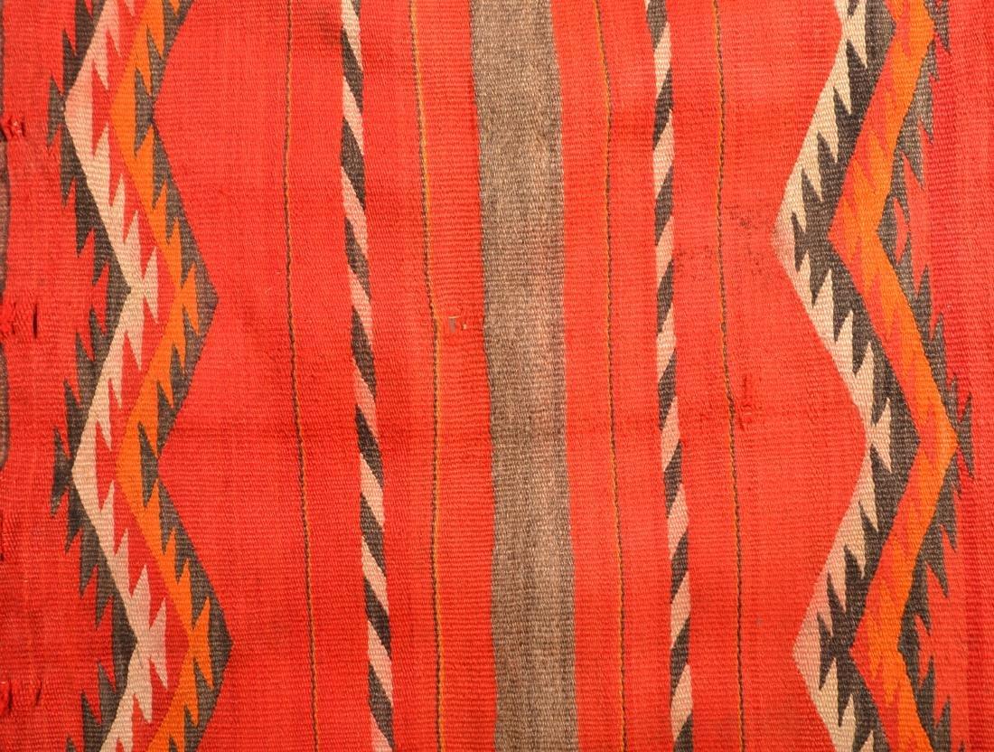 "2 Old Navaho Textiles - 30"" x 26"", 35"" x 28"" These - 3"