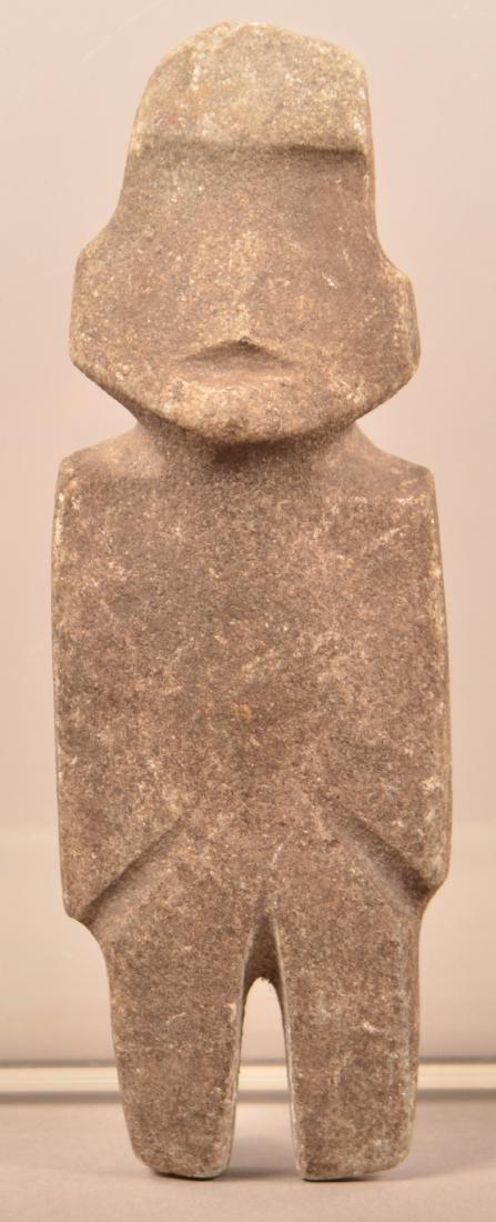 """Precolumbian Mezcala Figurine 5 1/4"""" x 1 3/4"""""""