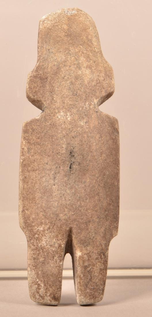 """Precolumbian Mezcala Figurine 5 1/4"""" x 1 3/4"""" - 2"""
