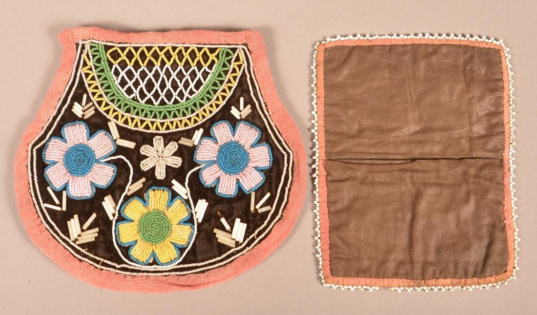 2 Mid 19th Cent. Iroquois Beaded Items - Rectangular - 2