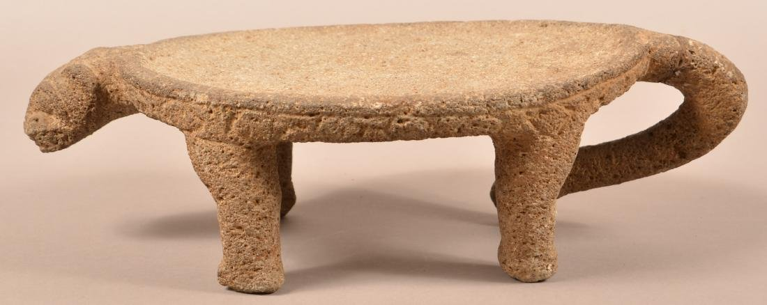 Precolumbian, Costa Rican Figural Metate, Tail Section - 3