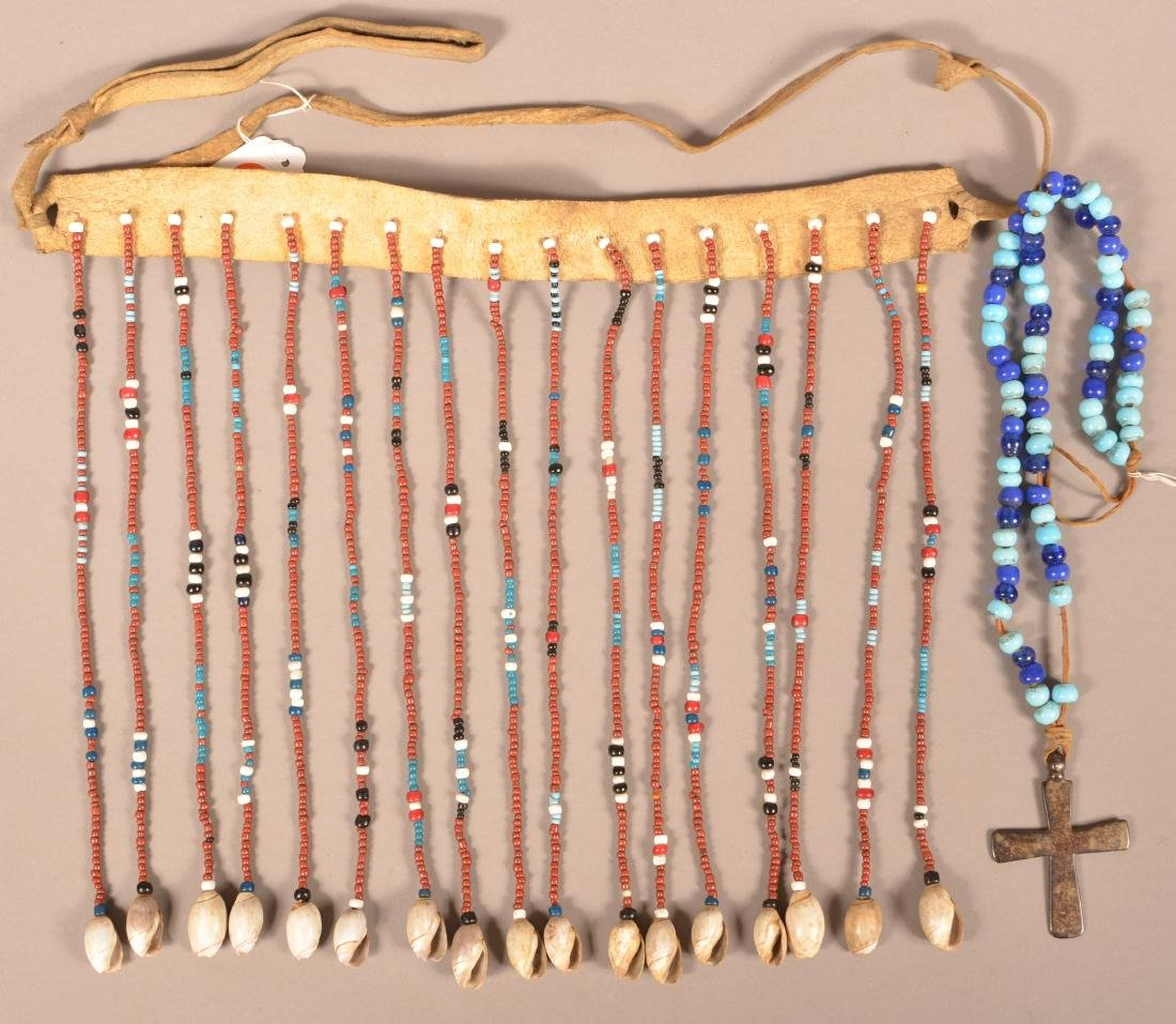 2 Native American Ornaments - A California Tribal