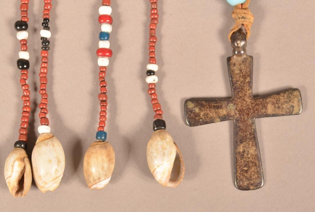 2 Native American Ornaments - A California Tribal - 2