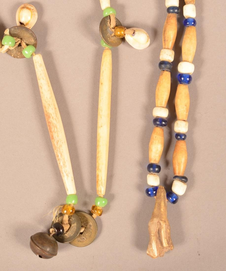 Group Of Native American Neckalces - Pre-Contact Shell - 2