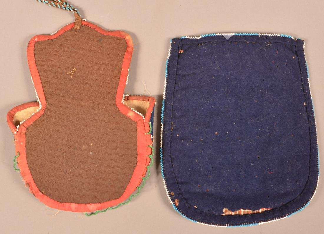 2 Antiques Great Lakes Region Beaded items-Chippewa - 2