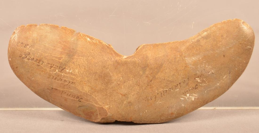 "Prehistoric ""Wing"" Bannerstone - 4 3/4"" x 1 3/4"". This - 3"