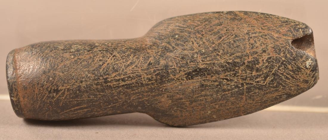 Small Sized, Flat Based Stone Smoking Pipe, South East