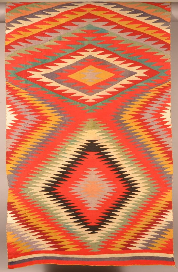 "An Americana Navaho ""Germantown"" Textile 64"" x 38"" - 2"