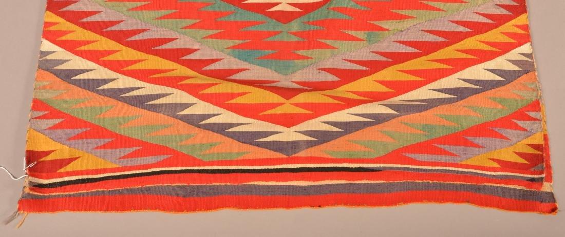 "An Americana Navaho ""Germantown"" Textile 64"" x 38"" - 3"