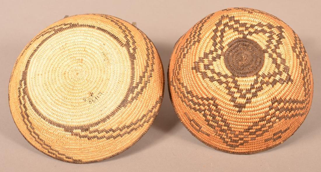 "2 Apache Baskets 7 3/4"" x 4"", 8 1/4"" Dia. - 3"