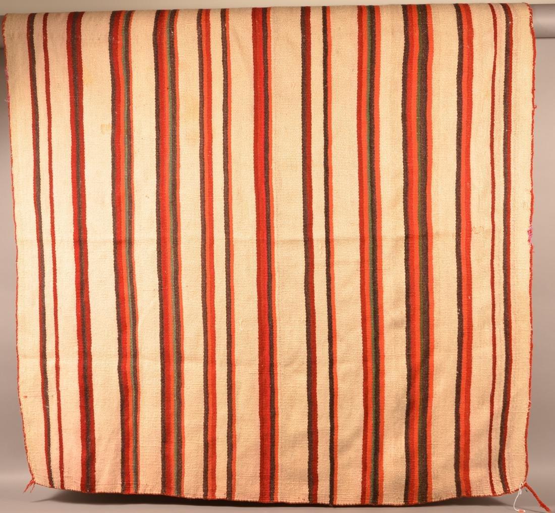 """Navaho Textile, Transtional Era 70"""" x 68"""" Soiled w/ - 2"""