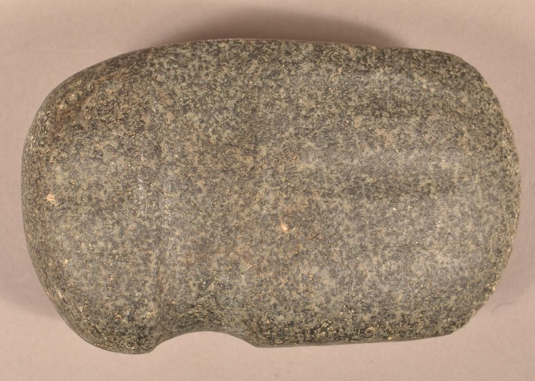 "3/4 Grooved, Upper Mid-West Type ""Fluted"" Granite Axe"