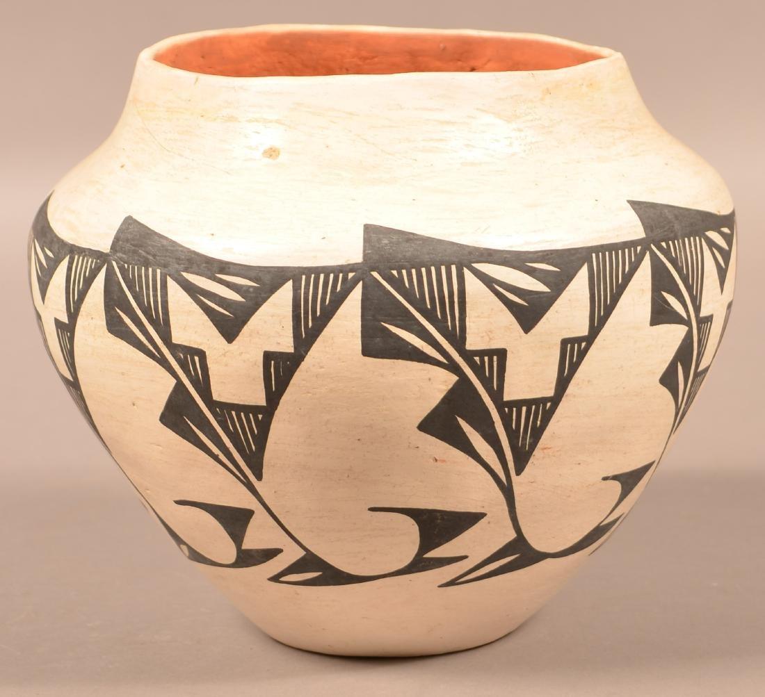 """Vintage Acoma Pueblo Pottery Jar 8 1/2"""" x 9 1/2"""" - 2"""