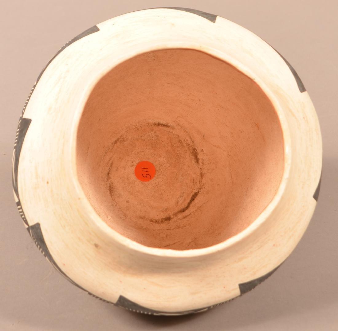 """Vintage Acoma Pueblo Pottery Jar 8 1/2"""" x 9 1/2"""" - 3"""