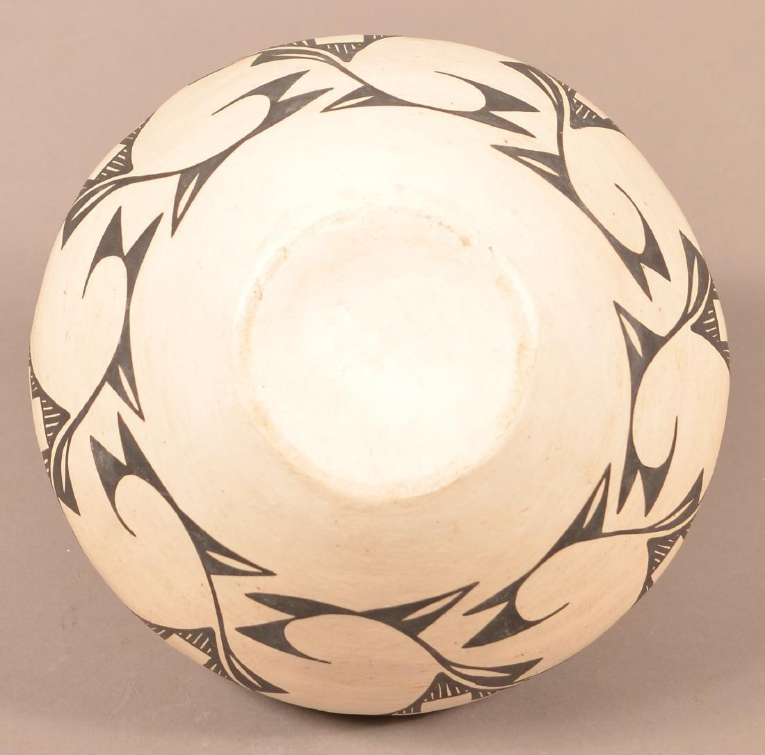 """Vintage Acoma Pueblo Pottery Jar 8 1/2"""" x 9 1/2"""" - 4"""
