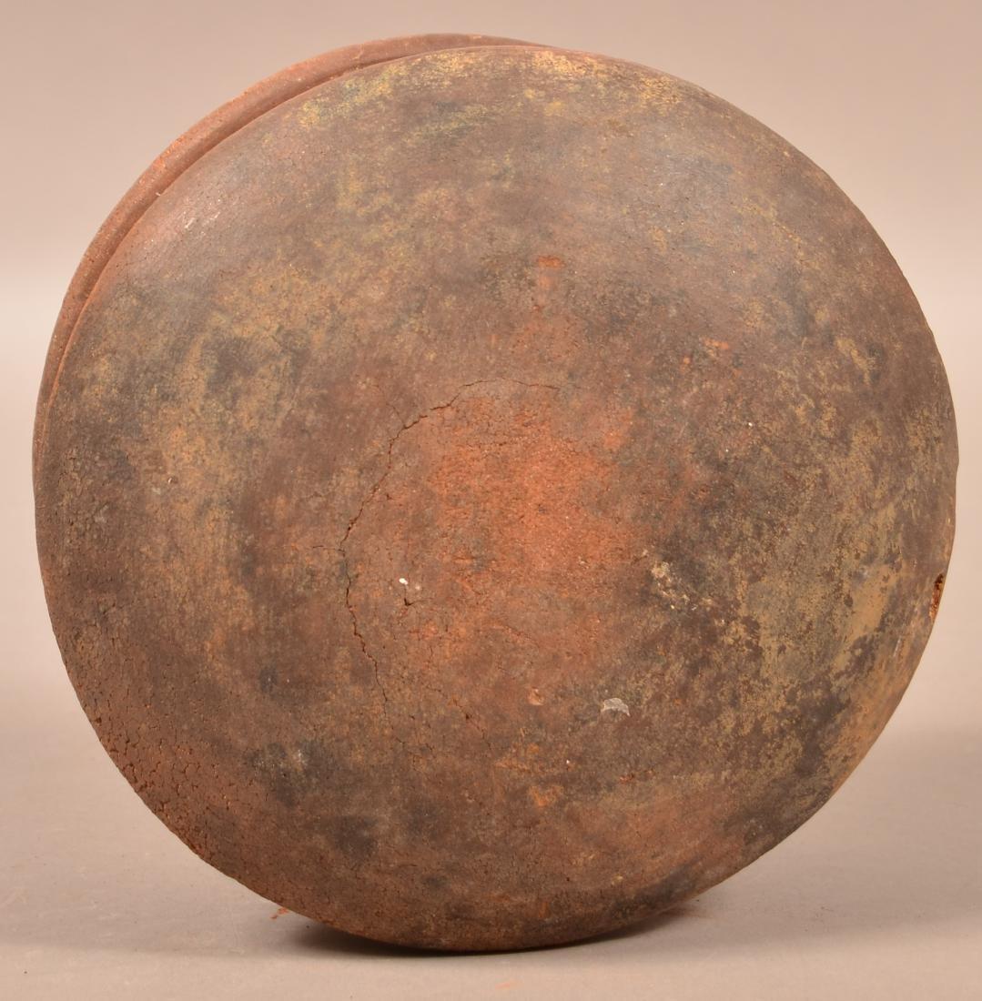 """Precolumbian, Meso American Pottery Vessel 5 1/2"""" x 9"""" - 4"""