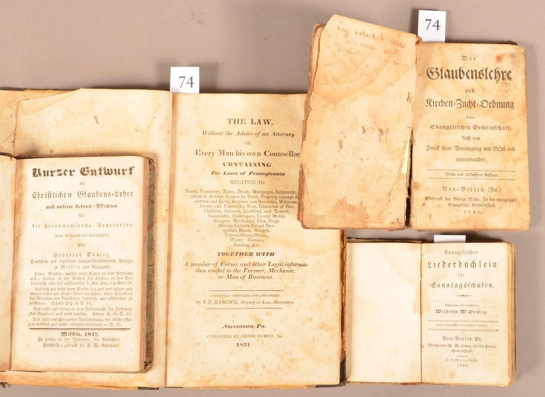 Evangelisches Liederbuchlein. Neu-Berlin 1843. 16mo. - 2