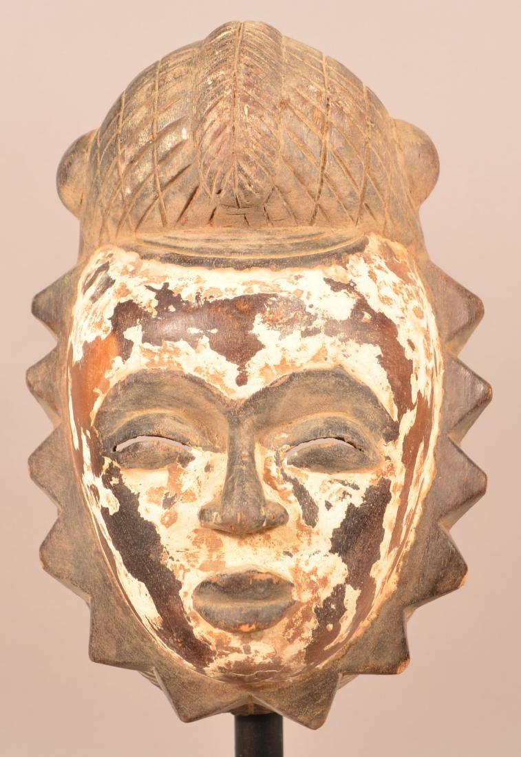 Two Antique/Vintage African Carved Wood Tribal Masks. - 2