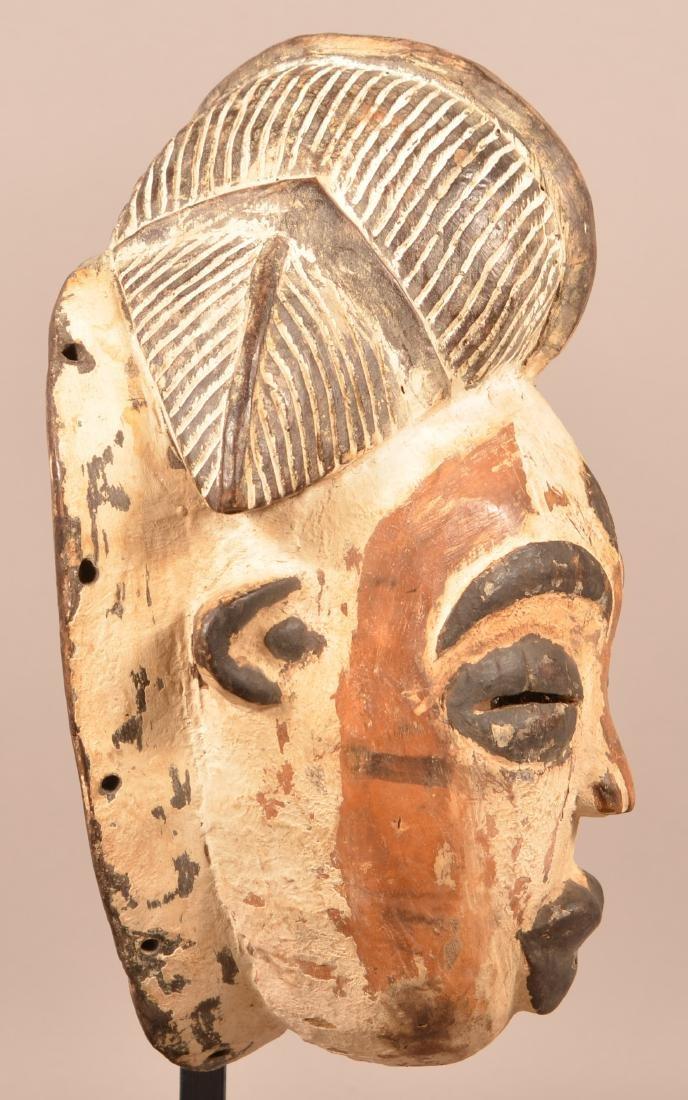 Two Antique/Vintage African Carved Wood Tribal Masks. - 7
