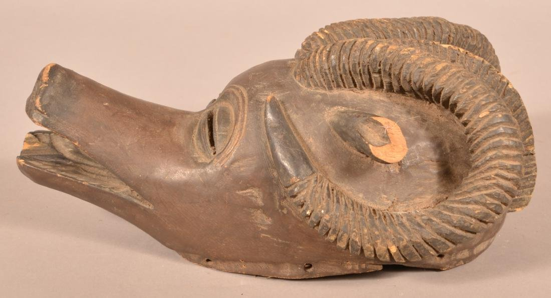 Three Antique/Vintage African Carved Wood Tribal Animal - 4