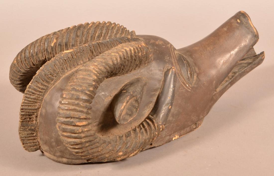 Three Antique/Vintage African Carved Wood Tribal Animal - 5