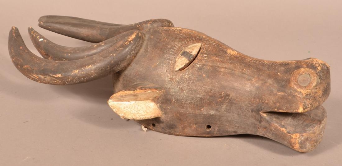 Three Antique/Vintage African Carved Wood Tribal Animal - 8